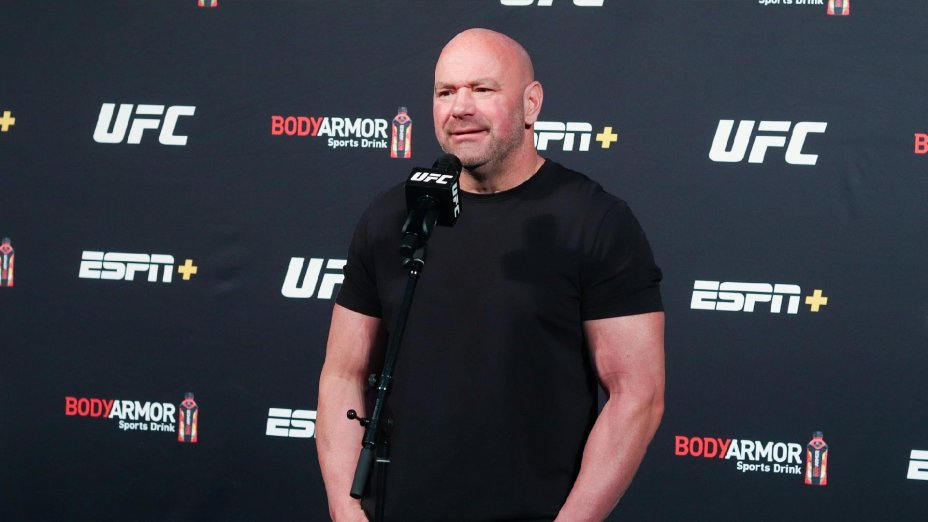 Dana White to critics of decision to book interim heavyweight title fight: 'Shut the [expletive] up'