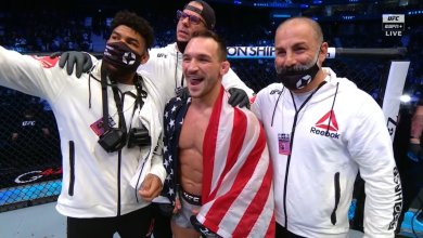 Michael Chandler to fight in Winter 2021